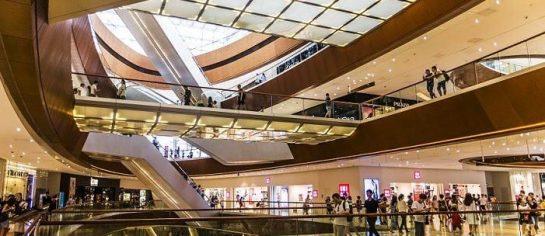 sistema de gestão de shopping