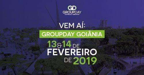 banner goinia - GroupDay: Goiânia recebe o evento nos dias 13 e 14 de fevereiro