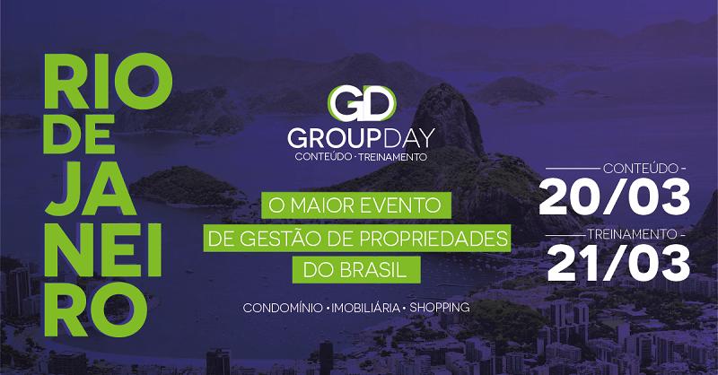riooo - GroupDay: Rio de Janeiro é o destino da edição de março