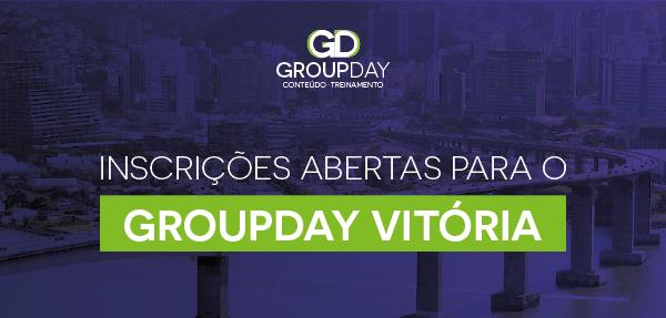 topo inscries vitoria - Espírito Santo, nos aguarde! GroupDay aterrissa em Vitória em Abril