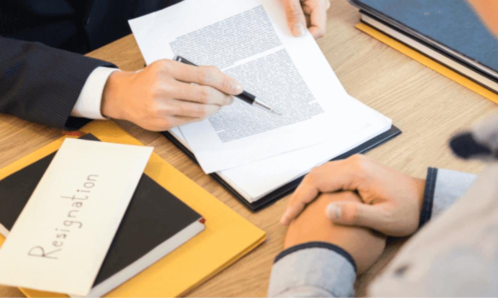 Rescisão de contrato
