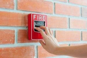 Vistoria do corpo de bombeiros em condomínio