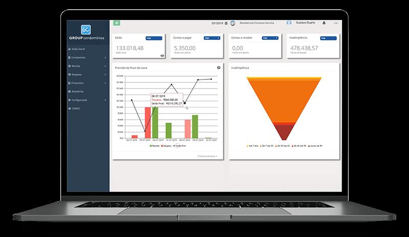 Software on-line para gestão de condomínios