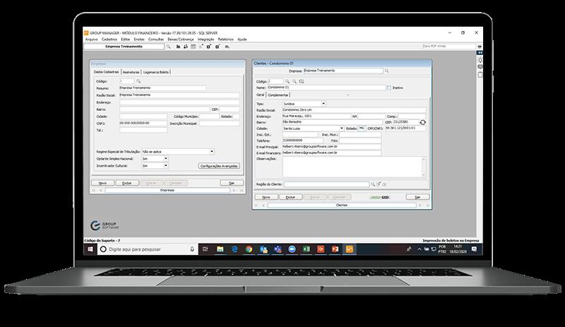 Software para gestão administrativa de empresas