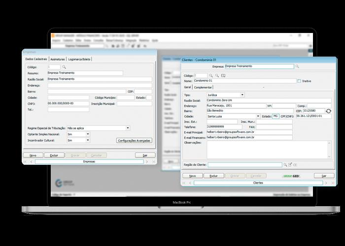 Software para administração de shopping center